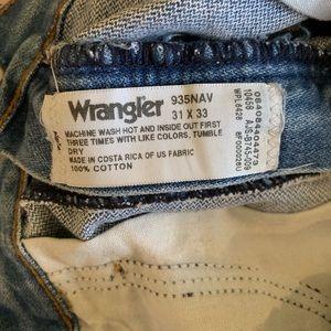 Wrangler Shorts - Wrangler destroyed jean shorts